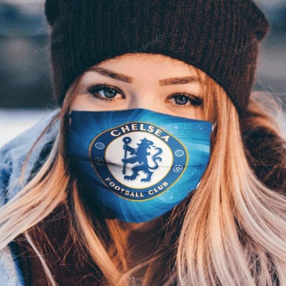 Chelsea football club anti pollution face mask - maria