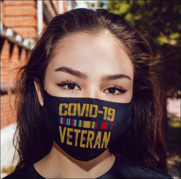 Covid-19 veteran anti pollution face mask - maria
