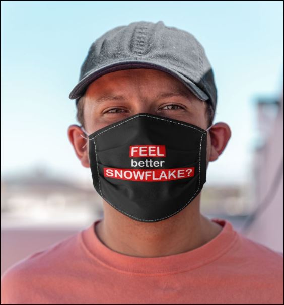 Feel better snowflake anti pollution face mask - maria