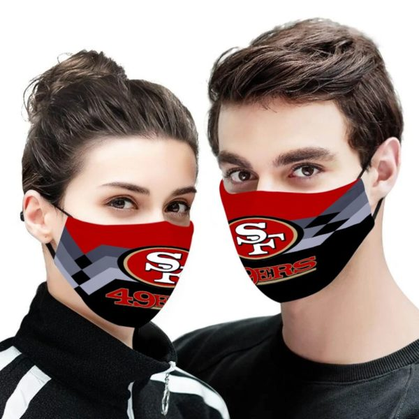 NFL san francisco 49ers anti pollution face mask - maria