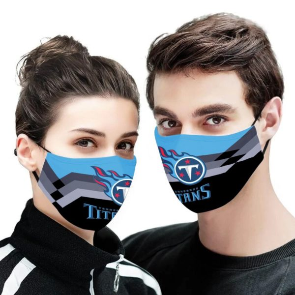 NFL tennessee titans anti pollution face mask - maria