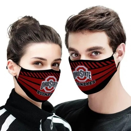 The ohio state buckeyes anti pollution face mask - maria