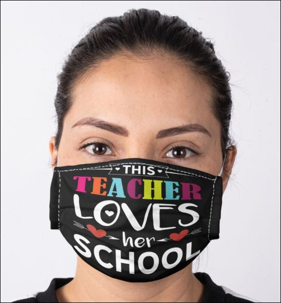 This teacher loves her school anti pollution face mask - maria