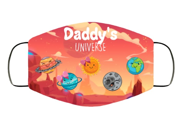 Daddy's Universe face mask - Alchemytee