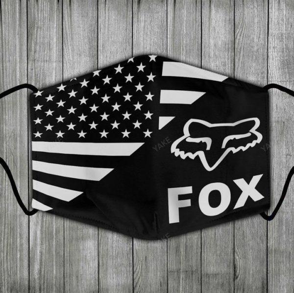 Fox racing american flag face mask