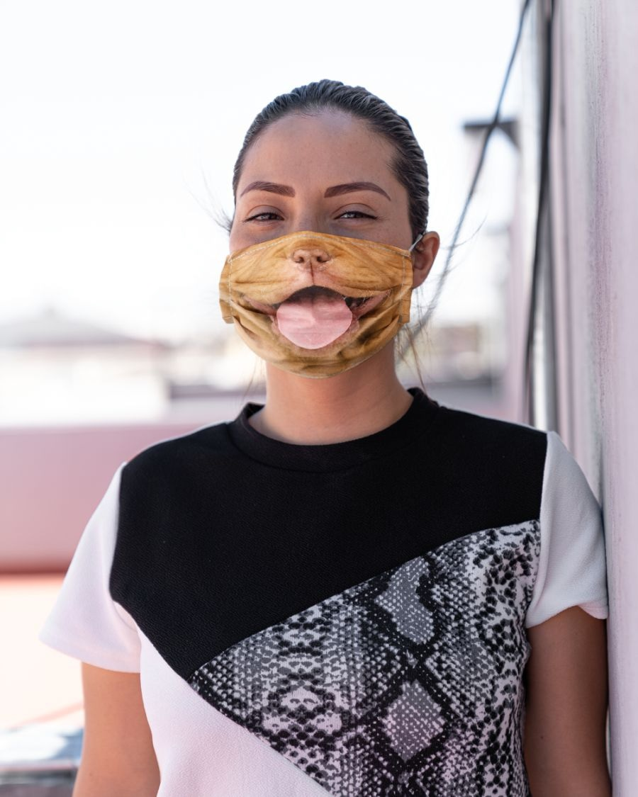 French Mastiff Puppy face mask - Alchemytee