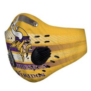 Minnesota vikings filter face mask