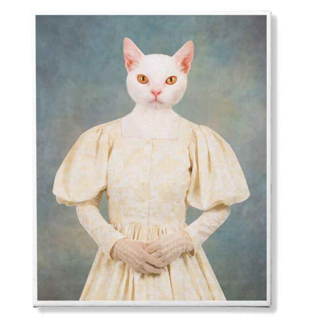 Photo Canvas Custom Cat 4 and Pet 2