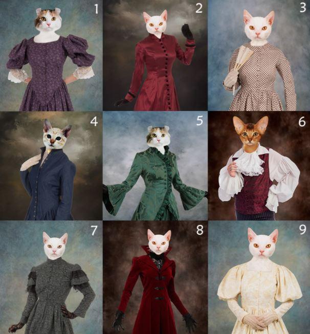 Photo Canvas Custom Cat 4 and Pet 3