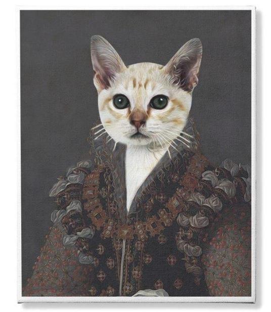 Photo Canvas Custom Cat and Pet 2