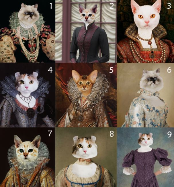 Photo Canvas Custom Cat and Pet 3