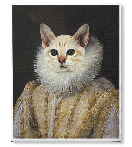 Photo Canvas Custom Cat and Pet