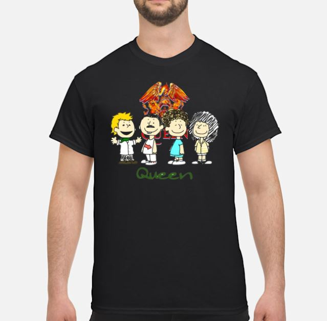 Rock band Queen animation t-shirt