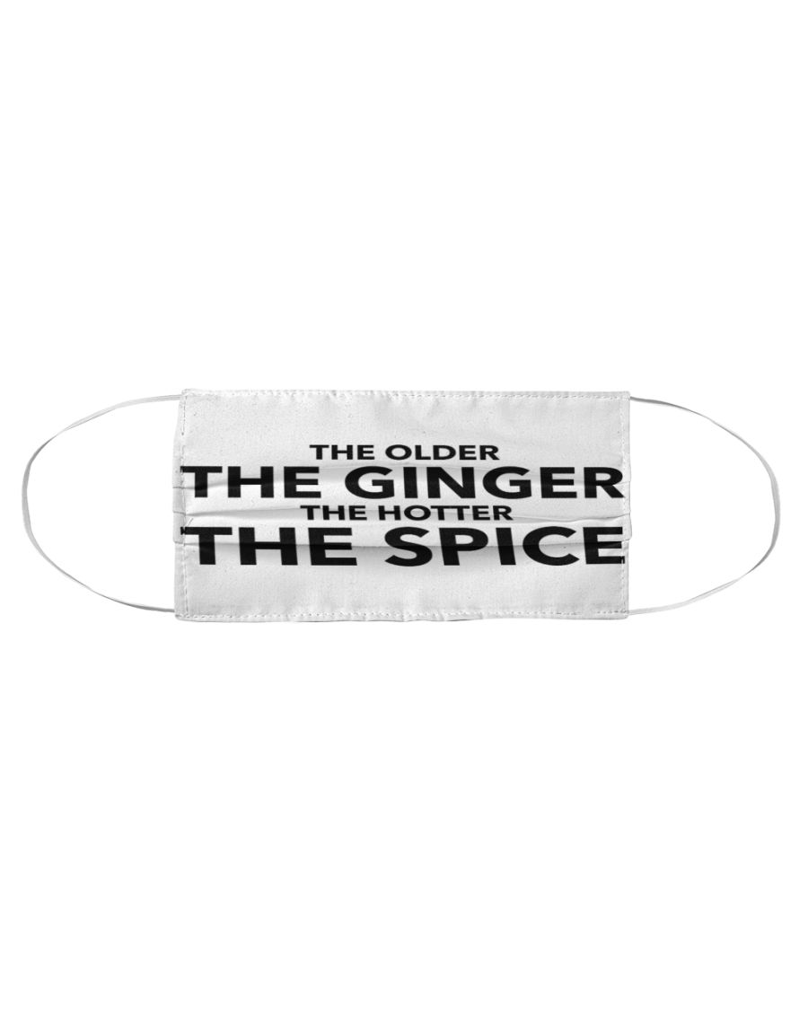 The older the ginger the hotter the spice face mask - Hothot