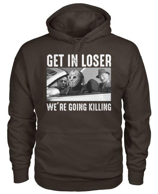 loser we're going killing hoodie