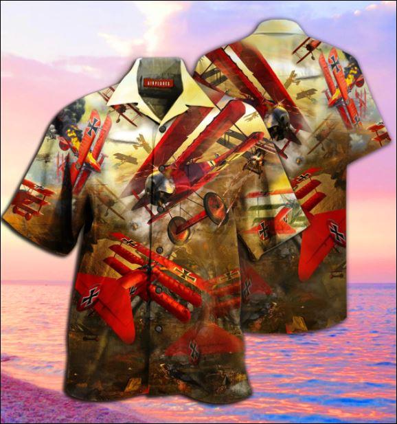 Airplanes war hawaiian shirt