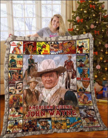 American legend John Wayne 3D quilt