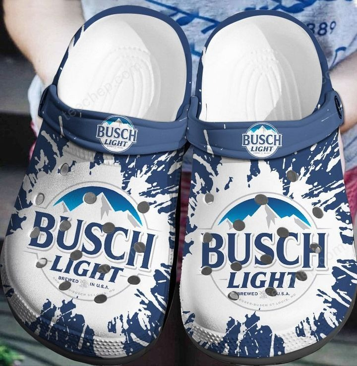 Busch light crocband crocs shoes