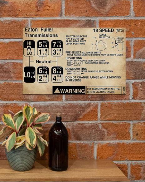 Eaton Fuller transmission poster 2