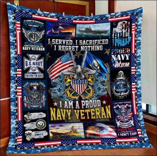 I served i sacrificed i regret nothing 3D quilt