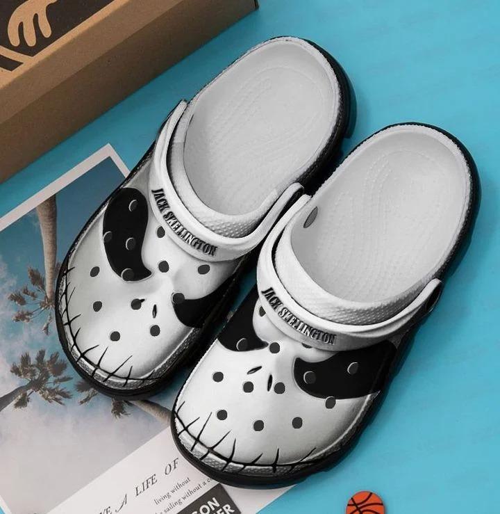 Jack skellington crocs crocband clog - Hothot 210920