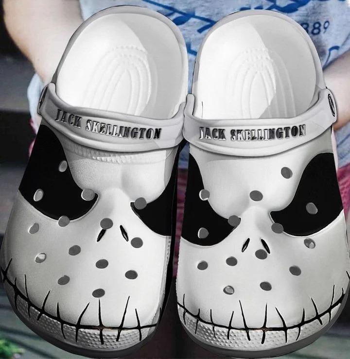Jack skellington crocs crocband clog