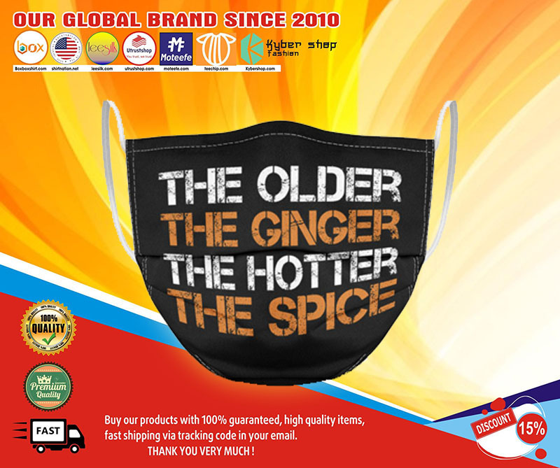 The older the gingers the hotter the spice face mask1