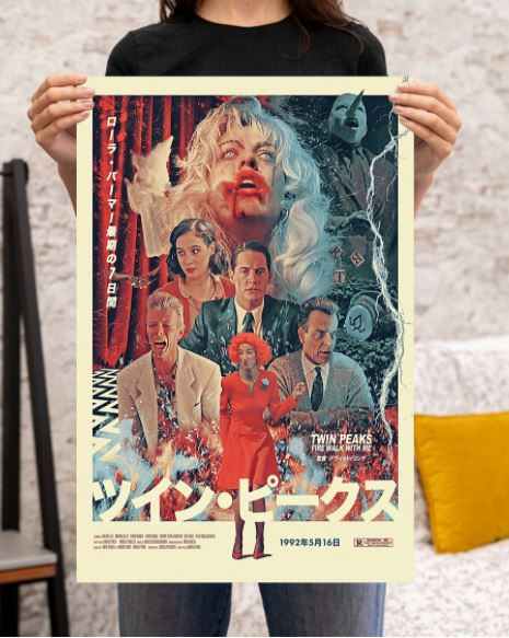Twin Peaks fire walk with me Japanese poster 2