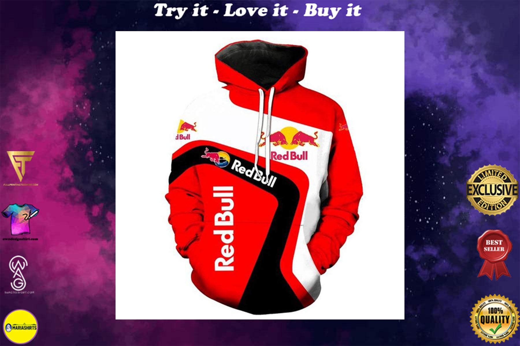 [highest selling] ktm redbull team motorcycle sport riding racing full printing shirt - maria