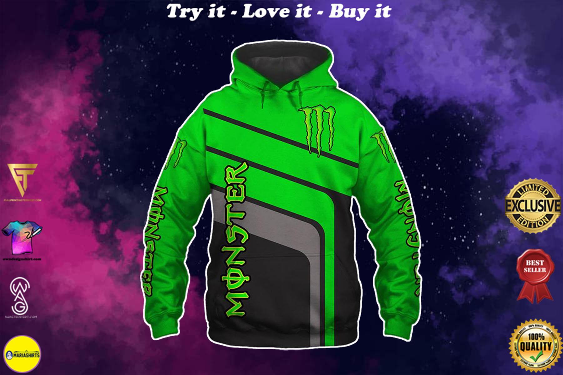 [highest selling] monster energy factory racing motorcross full printing shirt - maria