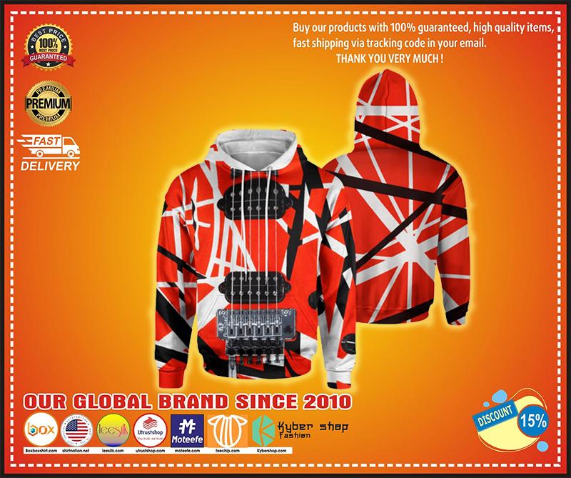 Guitar Van Halen 3d hoodie - LIMITED EDITION