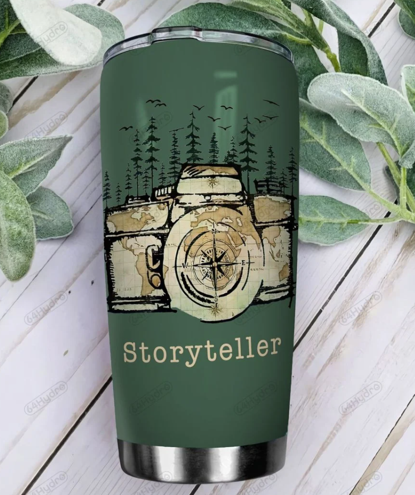 Storyteller photography cheat sheet tumbler - dnstyles