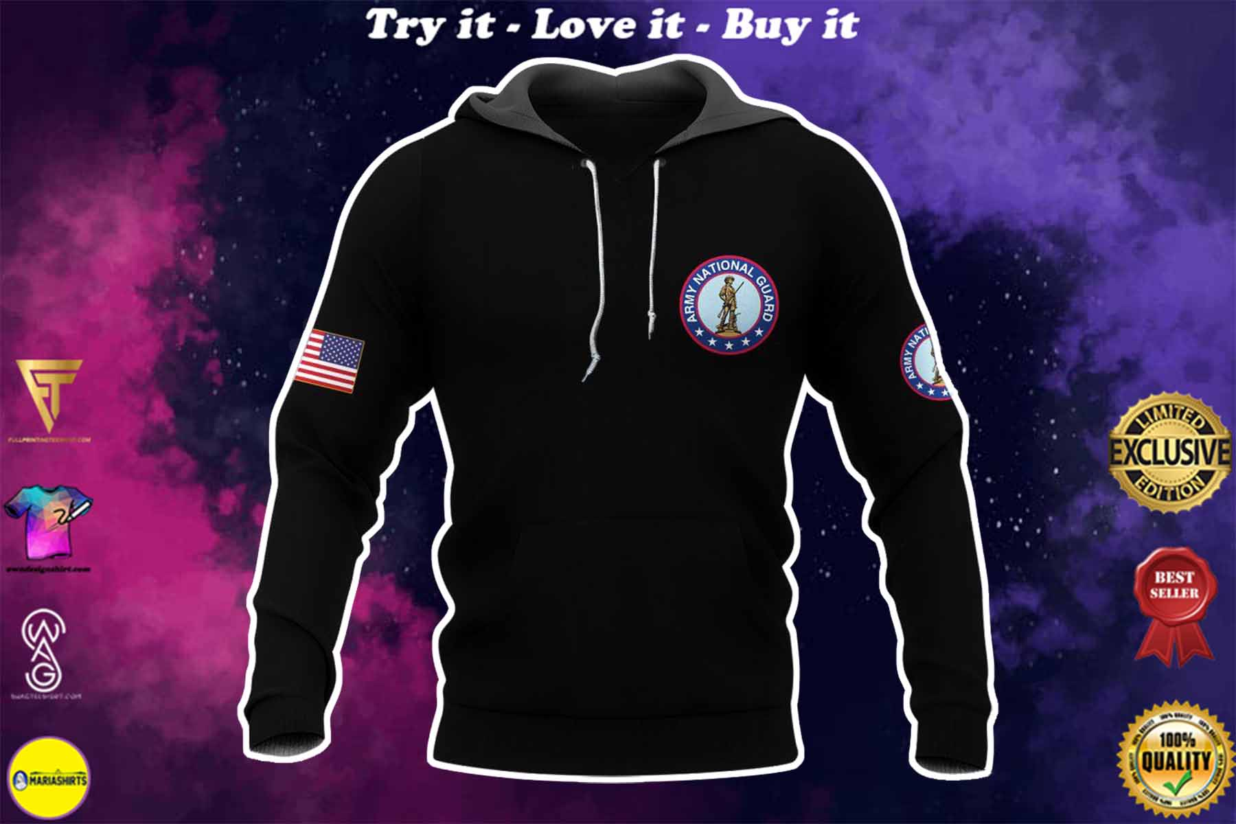[highest selling] army national guard warrior molon labe full over printed shirt - maria