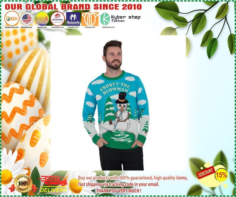 Frosty the Blowman Snowman Ugly Christmas Sweater – LIMITED EDTION