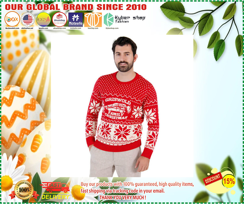National Lampoon Griswold Family Ugly Christmas Sweater – LIMITED EDTION