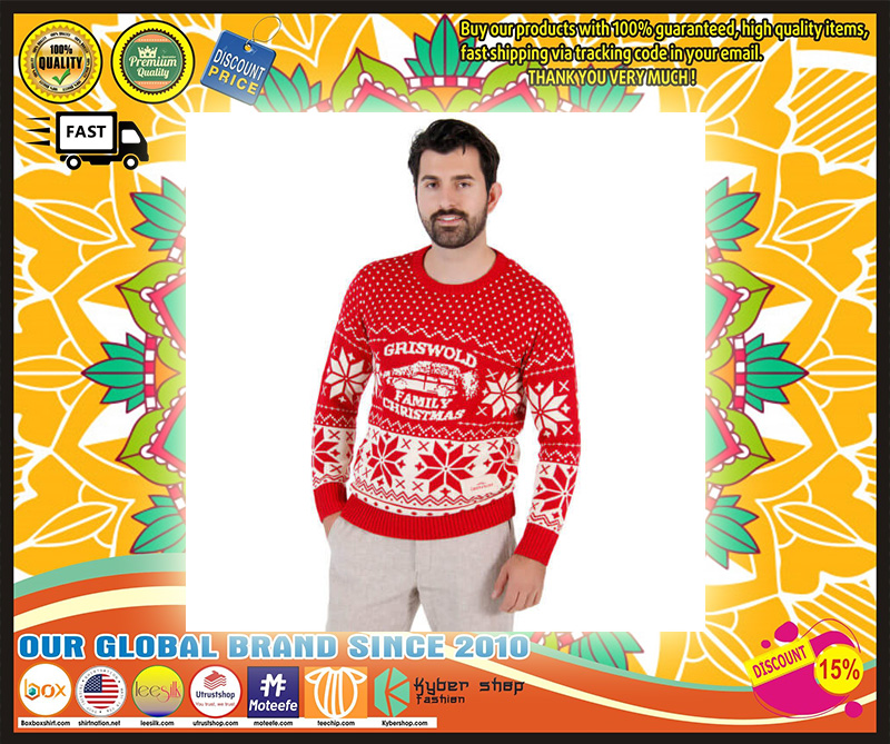 National Lampoon Griswold Family Ugly Christmas Sweater
