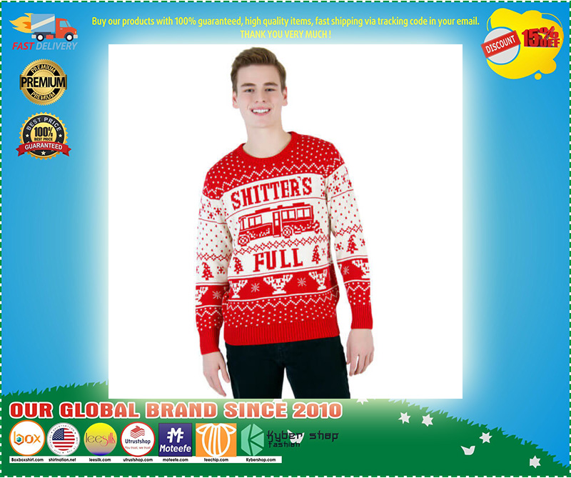 National Lampoon Vacation Shitter's Full Ugly Christmas Sweater – LIMITED EDTION