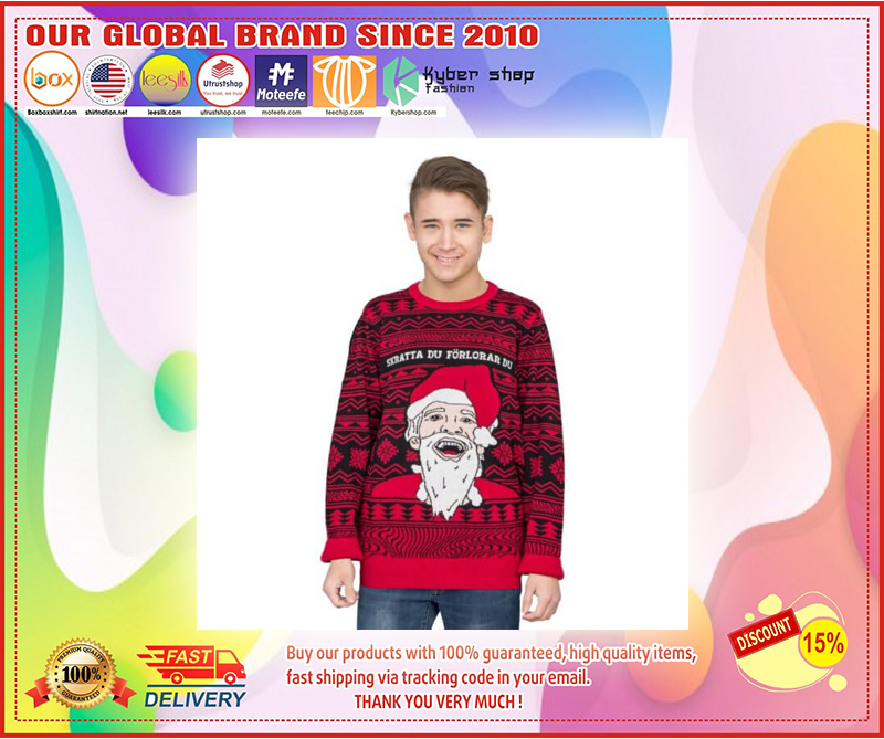 PewDiePie Ugly Christmas Sweater