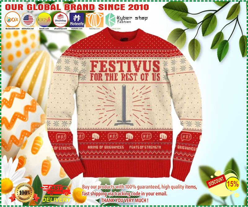 Seinfeld Festivus For The Rest Of Us Christmas Sweater – LIMITED EDTION