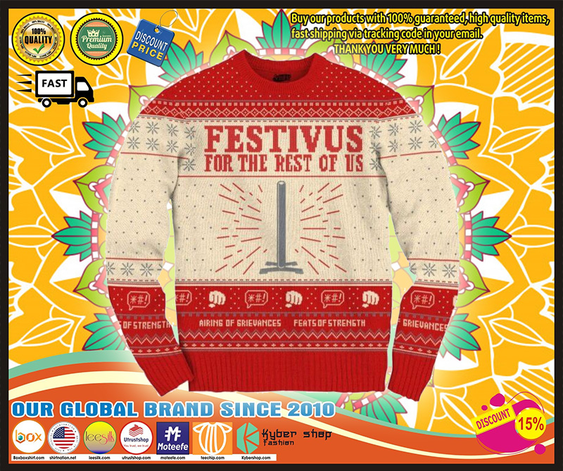 Seinfeld Festivus For The Rest Of Us Christmas Sweater