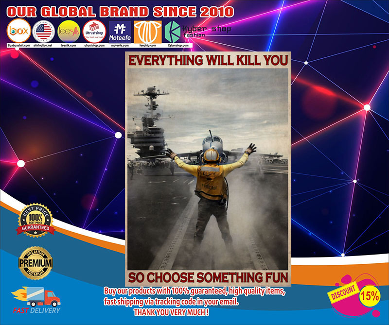 Aircraft Marshalling everything will kill you so choose something fun poster1