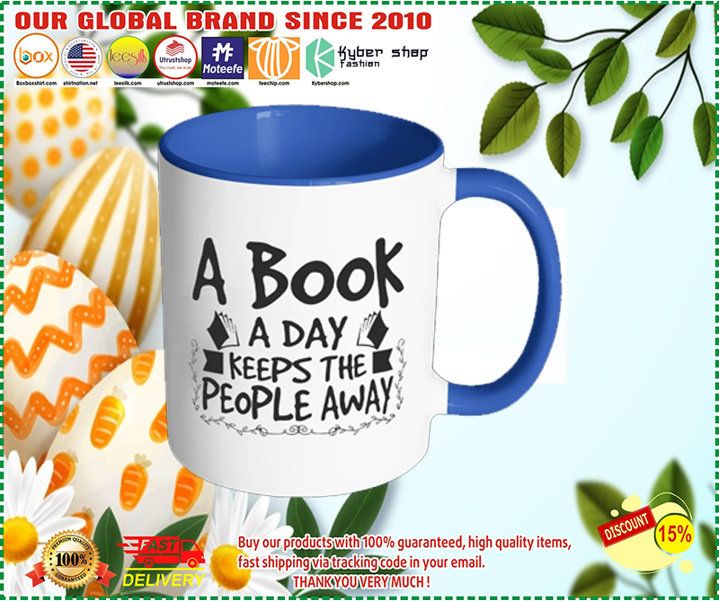 [AUTHENTIC] A Book A Day Keeps The People Away Mug