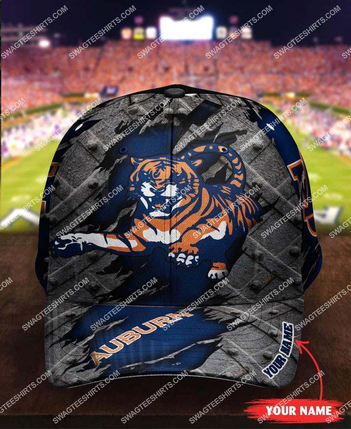 [highest selling] custom name auburn tigers football full printing cap - maria