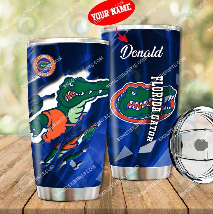 [highest selling] custom name florida gators football full printing tumbler - maria