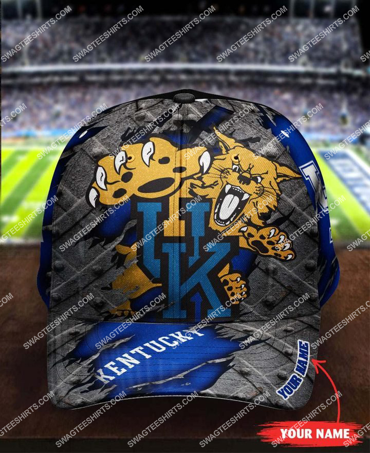 [highest selling] custom name kentucky wildcats full printing cap - maria