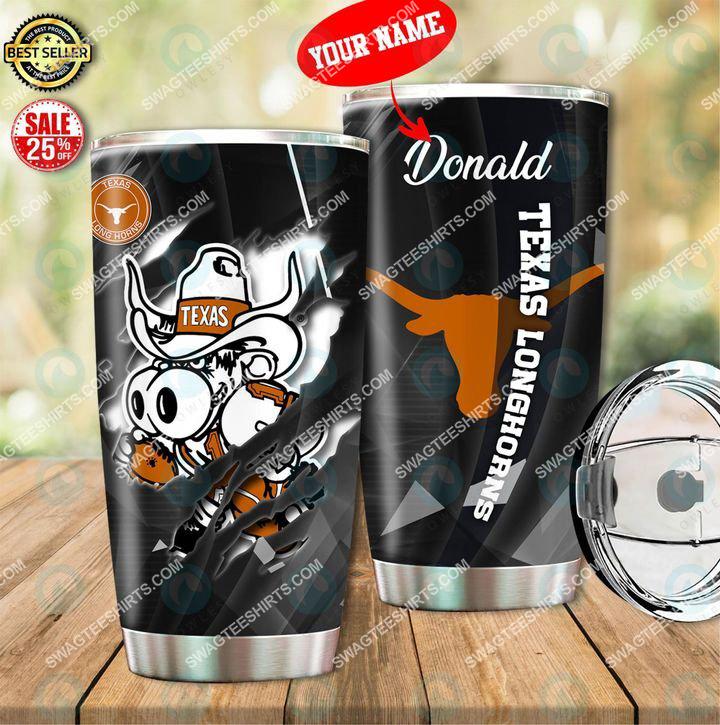 [highest selling] custom name texas longhorns football full printing tumbler - maria