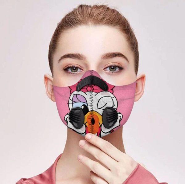 Daisy duck filter face mask 1