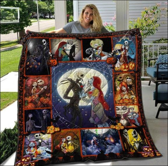 Jack Skellington and Sally 3D quilt