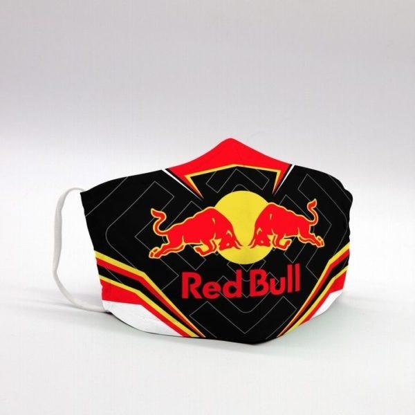 Red bull face mask