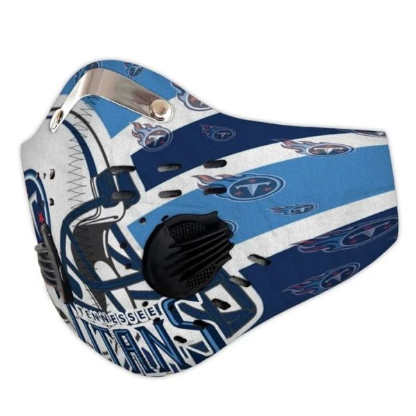 Tennessee Titans filter face mask